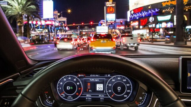 Audi Traffic light information system