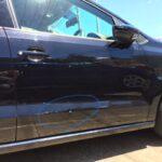 VOLKSWAGEN POLO 板金塗装の修理事例です。