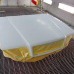 ボルボ復刻車 850 R セダン の塗装作業完了に目途が付きました!