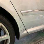 アウディA8 板金塗装の作業を紹介。