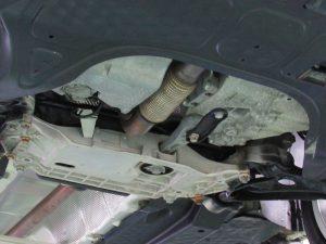 中古車販売車アウディA3 Sライン、納車前整備のDGSオイル交換でトラブル防止!