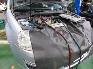 代車車両ワーゲンジェッタにテストを兼ねてDSGオイル交換を実施!